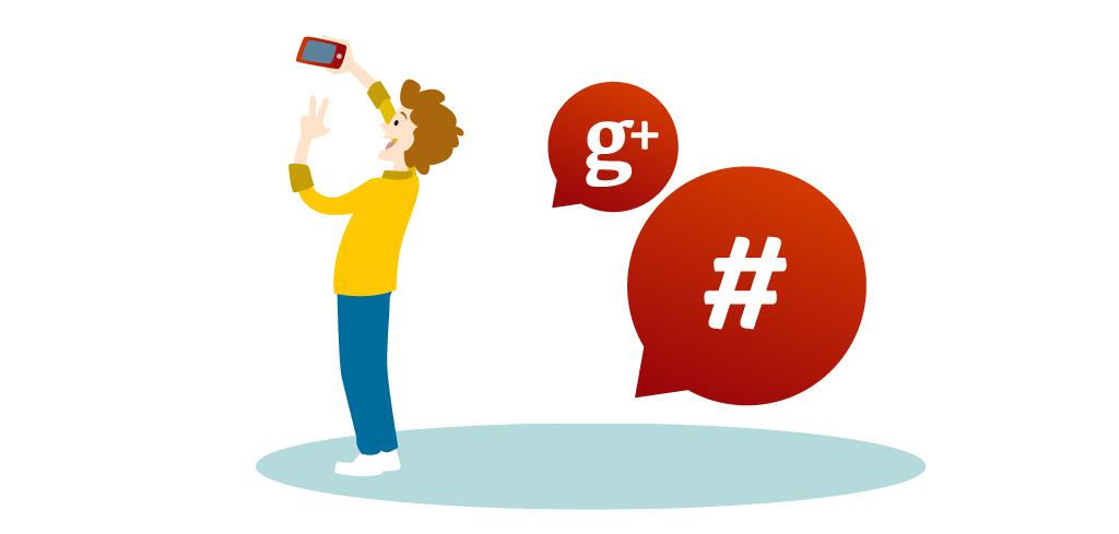 Usos de Hashtags en Google Plus