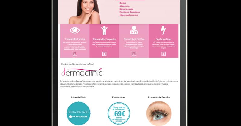 Nueva web Dermoclinic.es