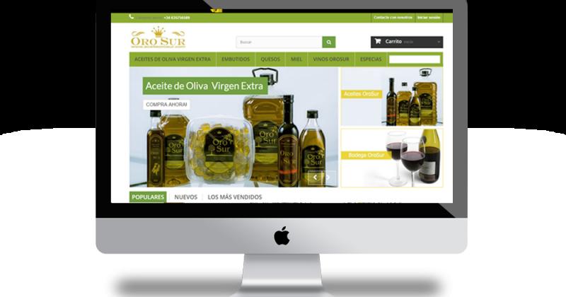 e231922229d37 Tienda online para Venta Online de aceite de oliva - Empresa Diseño ...